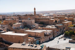 Cityscape from Midyat. Ancient city from Turkey Stock Photo