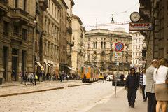 Cityscape Milan, Italy Royalty Free Stock Images