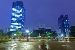 Cityscape of Minato district of Tokyo. Japan Stock Images