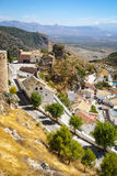 Cityscape, Moclin, Granada, Andalusia, Spain Royalty Free Stock Photography