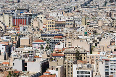 Cityscape of modern Athens, Greece Stock Photos