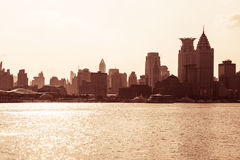 Cityscape of modern city Stock Images