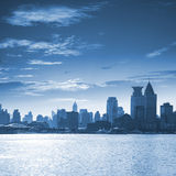 Cityscape of modern city Royalty Free Stock Photos