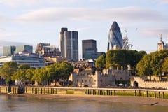 cityscape moderna london Royaltyfria Foton
