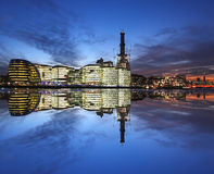 cityscape moderna london Royaltyfri Bild