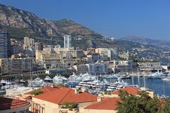 Cityscape of Monaco. Stock Images