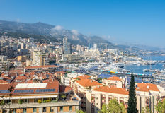 Cityscape of Monaco Stock Photography