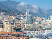 Cityscape of Monaco Royalty Free Stock Image