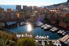 Cityscape in Monaco, Monaco city royalty free stock images