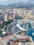 Cityscape of Monaco, Monaco Royalty Free Stock Photography