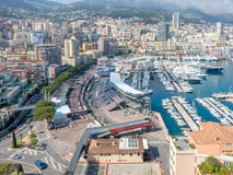 Cityscape of Monaco, Monaco Stock Photo