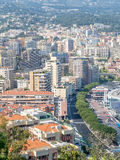 Cityscape of Monaco, Monaco Royalty Free Stock Photos