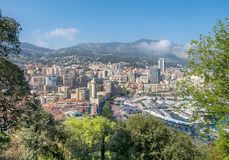Cityscape of Monaco, Monaco Stock Photos