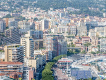 Cityscape of Monaco, Monaco Royalty Free Stock Photo