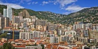 Cityscape of the Monaco principality Royalty Free Stock Photo