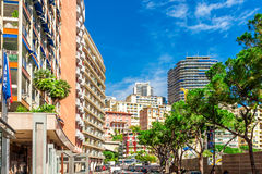 Cityscape of Monaco Royalty Free Stock Photos