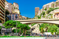 Cityscape of Monaco Stock Photo