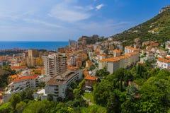 Cityscape of Monaco Royalty Free Stock Images