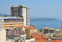 Cityscape of Monaco Stock Photography