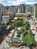 Cityscape of Mongkok, Hong Kong. Royalty Free Stock Photography