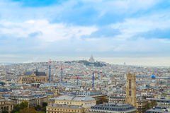 Cityscape Mont Matre , Paris, France Stock Photo