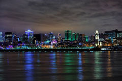 Cityscape of Montreal city in Canada Stock Photos