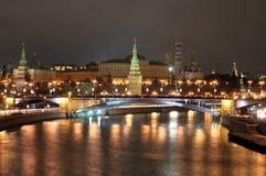 Cityscape of Moscow Stock Photos