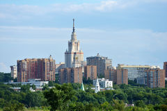 Cityscape of Moscow Royalty Free Stock Image