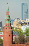 Cityscape of Moscow stock photo