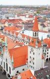 cityscape munich Fotografering för Bildbyråer
