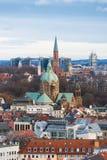 cityscape munich Royaltyfria Bilder