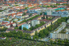 Cityscape of Munich Stock Images
