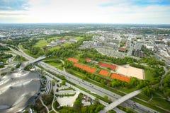 Cityscape of Munich stock photos