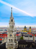Cityscape of Munich Royalty Free Stock Photography