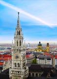 Cityscape of Munich Royalty Free Stock Photography