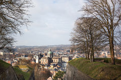 Cityscape of Namur, Belgium Royalty Free Stock Image