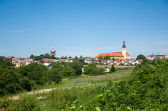 Cityscape of Nasice, Croatia Royalty Free Stock Photo