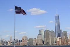 cityscape New York Arkivfoto