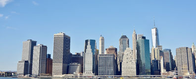 Cityscape of New York Royalty Free Stock Photography