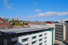 Cityscape of Newcastle Royalty Free Stock Photos