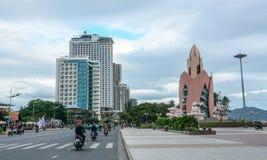Cityscape of Nha Trang, Vietnam royalty free stock photo