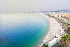 Cityscape of Nice, France Stock Photo