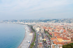 Cityscape of Nice, France Stock Images