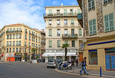 The cityscape of Nice Royalty Free Stock Images