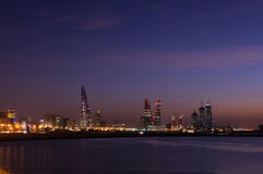 Cityscape in the night Royalty Free Stock Image