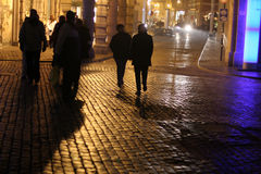 cityscape night Στοκ εικόνα με δικαίωμα ελεύθερης χρήσης