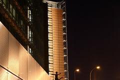 Cityscape at night Royalty Free Stock Photos