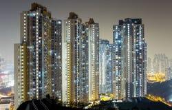 Cityscape at night Stock Photo