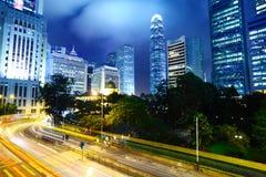 Cityscape at night Royalty Free Stock Photo