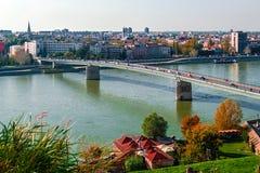 Cityscape in Novi Sad, Serbia 2 Stock Image